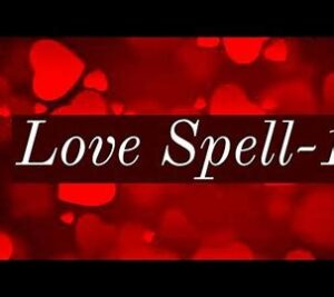 What Is A love Spell